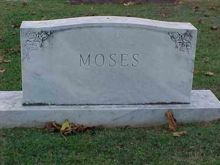 MOSES FAMILY STONE,  - Pulaski County, Arkansas |  MOSES FAMILY STONE - Arkansas Gravestone Photos