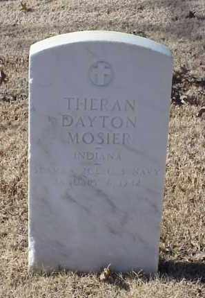 MOSIER (VETERAN), THERAN DAYTON - Pulaski County, Arkansas | THERAN DAYTON MOSIER (VETERAN) - Arkansas Gravestone Photos