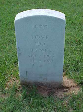 MOSLEY, LOVE IDA - Pulaski County, Arkansas | LOVE IDA MOSLEY - Arkansas Gravestone Photos