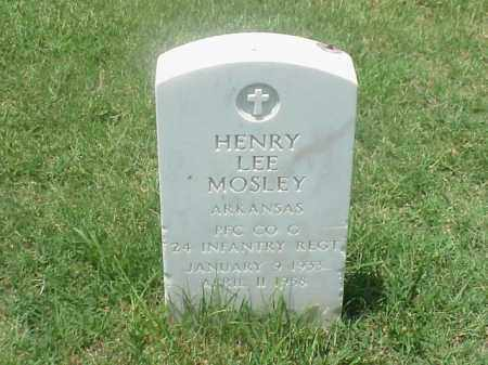 MOSLEY (VETERAN KOR), HENRY LEE - Pulaski County, Arkansas | HENRY LEE MOSLEY (VETERAN KOR) - Arkansas Gravestone Photos