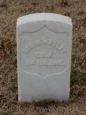MOSLEY (VETERAN UNION), GEORGE W - Pulaski County, Arkansas | GEORGE W MOSLEY (VETERAN UNION) - Arkansas Gravestone Photos