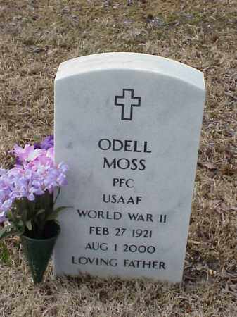 MOSS  (VETERAN WWII), ODELL - Pulaski County, Arkansas | ODELL MOSS  (VETERAN WWII) - Arkansas Gravestone Photos