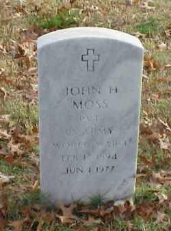 MOSS (VETERAN WWI), JOHN H - Pulaski County, Arkansas | JOHN H MOSS (VETERAN WWI) - Arkansas Gravestone Photos