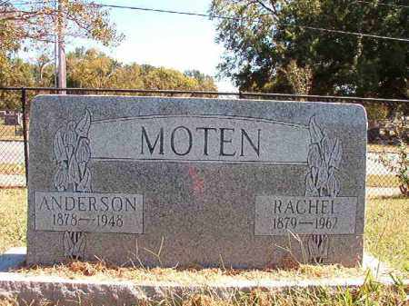 MOTEN, ANDERSON - Pulaski County, Arkansas | ANDERSON MOTEN - Arkansas Gravestone Photos