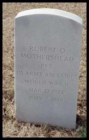 MOTHERSHEAD (VETERAN WWII), ROBERT O - Pulaski County, Arkansas | ROBERT O MOTHERSHEAD (VETERAN WWII) - Arkansas Gravestone Photos