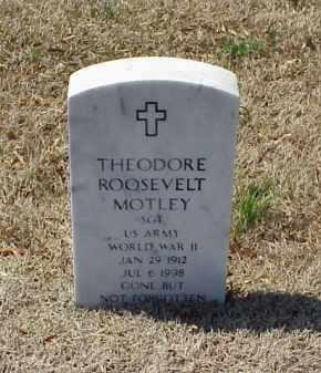 MOTLEY (VETERAN WWII), THEODORE ROOSEVELT - Pulaski County, Arkansas | THEODORE ROOSEVELT MOTLEY (VETERAN WWII) - Arkansas Gravestone Photos