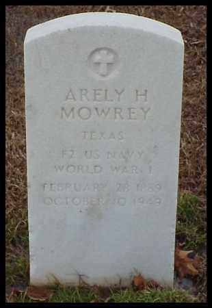 MOWREY (VETERAN WWI), ARELY H - Pulaski County, Arkansas | ARELY H MOWREY (VETERAN WWI) - Arkansas Gravestone Photos