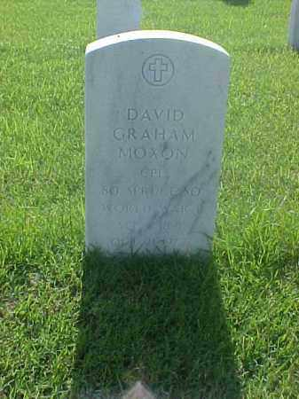 MOXON (VETERAN WWII), DAVID GRAHAM - Pulaski County, Arkansas | DAVID GRAHAM MOXON (VETERAN WWII) - Arkansas Gravestone Photos