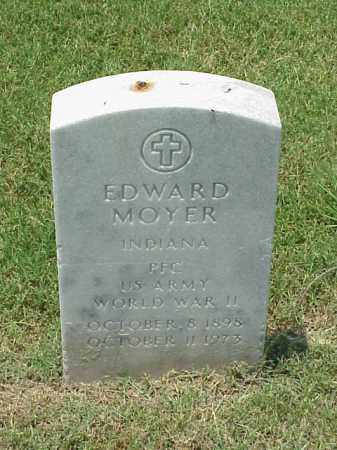MOYER (VETERAN WWII), EDWARD - Pulaski County, Arkansas | EDWARD MOYER (VETERAN WWII) - Arkansas Gravestone Photos