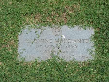MUCCIANTE (VETERAN WWII), CARMINE - Pulaski County, Arkansas | CARMINE MUCCIANTE (VETERAN WWII) - Arkansas Gravestone Photos