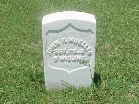 MUELLER (VETERAN UNION), JOHN F - Pulaski County, Arkansas | JOHN F MUELLER (VETERAN UNION) - Arkansas Gravestone Photos