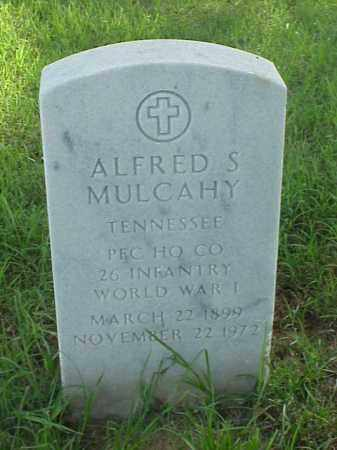 MULCAHY (VETERAN WWI), ALFRED S - Pulaski County, Arkansas | ALFRED S MULCAHY (VETERAN WWI) - Arkansas Gravestone Photos