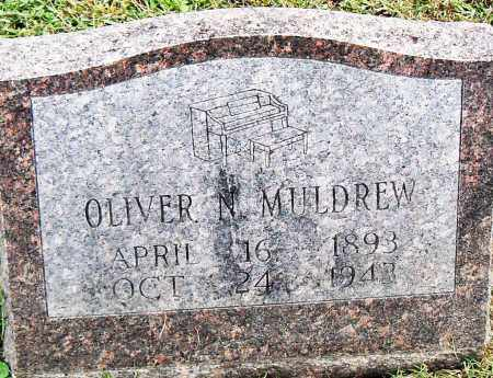 MULDREW, OLIVER N - Pulaski County, Arkansas | OLIVER N MULDREW - Arkansas Gravestone Photos