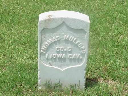 MULFORD (VETERAN UNION), THOMAS - Pulaski County, Arkansas | THOMAS MULFORD (VETERAN UNION) - Arkansas Gravestone Photos