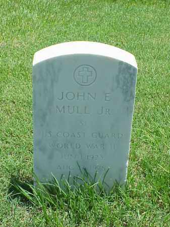 MULL, JR (VETERAN WWII), JOHN E - Pulaski County, Arkansas | JOHN E MULL, JR (VETERAN WWII) - Arkansas Gravestone Photos