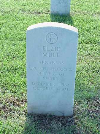 MULL (VETERAN KOR), ELZIE - Pulaski County, Arkansas | ELZIE MULL (VETERAN KOR) - Arkansas Gravestone Photos