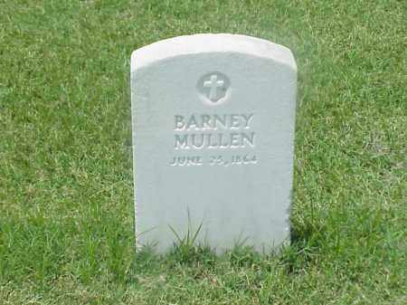 MULLEN (VETERAN UNION), BARNEY - Pulaski County, Arkansas | BARNEY MULLEN (VETERAN UNION) - Arkansas Gravestone Photos