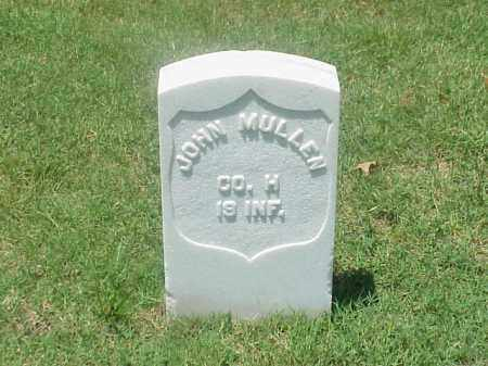 MULLEN (VETERAN UNION), JOHN - Pulaski County, Arkansas | JOHN MULLEN (VETERAN UNION) - Arkansas Gravestone Photos