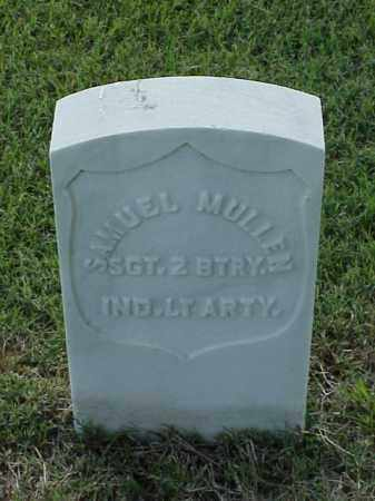 MULLEN (VETERAN UNION), SAMUEL - Pulaski County, Arkansas | SAMUEL MULLEN (VETERAN UNION) - Arkansas Gravestone Photos