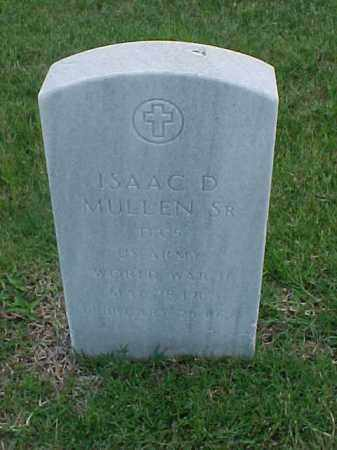 MULLEN, SR (VETERAN WWII), ISAAC D - Pulaski County, Arkansas | ISAAC D MULLEN, SR (VETERAN WWII) - Arkansas Gravestone Photos
