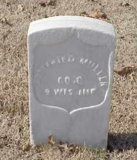 MULLER (VETERAN UNION), GOTTFRIED - Pulaski County, Arkansas | GOTTFRIED MULLER (VETERAN UNION) - Arkansas Gravestone Photos