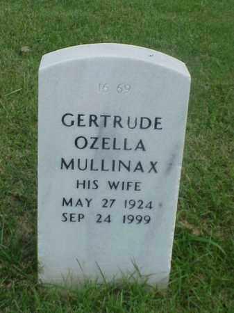 MULLINAX, GERTRUDE OZELLA - Pulaski County, Arkansas | GERTRUDE OZELLA MULLINAX - Arkansas Gravestone Photos