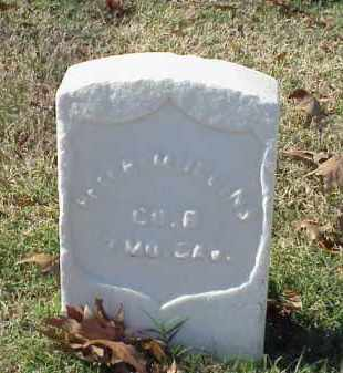 MULLINS (VETERAN UNION), PETER - Pulaski County, Arkansas | PETER MULLINS (VETERAN UNION) - Arkansas Gravestone Photos