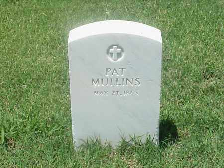 MULLINS, PAT - Pulaski County, Arkansas | PAT MULLINS - Arkansas Gravestone Photos