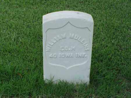 MULLINS (VETERAN UNION), WILLIAM - Pulaski County, Arkansas | WILLIAM MULLINS (VETERAN UNION) - Arkansas Gravestone Photos