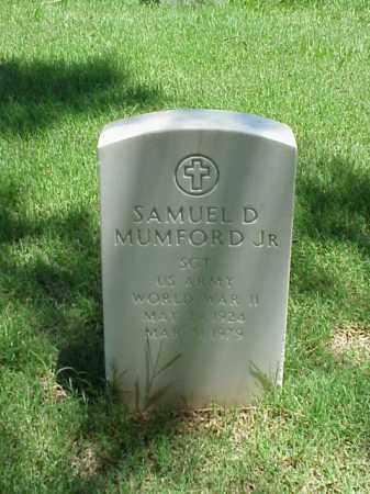 MUMFORD, JR (VETERAN WWII), SAMUEL D - Pulaski County, Arkansas | SAMUEL D MUMFORD, JR (VETERAN WWII) - Arkansas Gravestone Photos