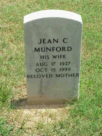 MUNFORD, JEAN C - Pulaski County, Arkansas | JEAN C MUNFORD - Arkansas Gravestone Photos