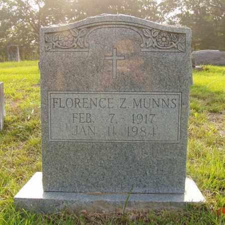 MUNNS, FLORENCE ELIZABETH - Pulaski County, Arkansas | FLORENCE ELIZABETH MUNNS - Arkansas Gravestone Photos