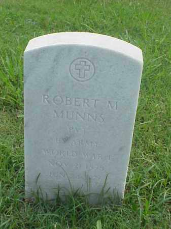MUNNS (VETERAN WWI), ROBERT M - Pulaski County, Arkansas | ROBERT M MUNNS (VETERAN WWI) - Arkansas Gravestone Photos