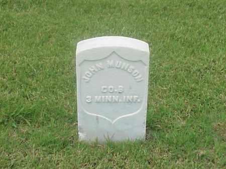 MUNSON (VETERAN UNION), JOHN - Pulaski County, Arkansas   JOHN MUNSON (VETERAN UNION) - Arkansas Gravestone Photos
