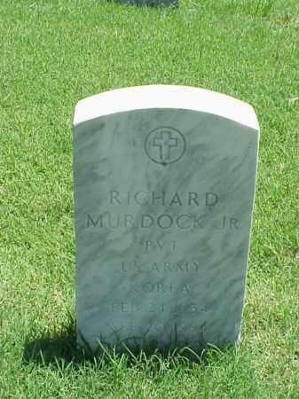 MURDOCK, JR (VETERAN KOR), RICHARD - Pulaski County, Arkansas | RICHARD MURDOCK, JR (VETERAN KOR) - Arkansas Gravestone Photos