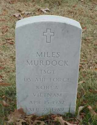 MURDOCK (VETERAN 2 WARS), MILES - Pulaski County, Arkansas | MILES MURDOCK (VETERAN 2 WARS) - Arkansas Gravestone Photos