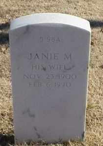 MURPHY, JANIE M. - Pulaski County, Arkansas | JANIE M. MURPHY - Arkansas Gravestone Photos