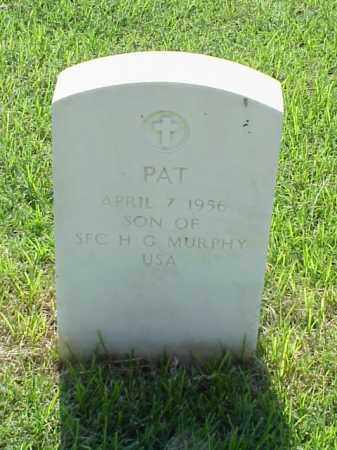 MURPHY, PAT - Pulaski County, Arkansas | PAT MURPHY - Arkansas Gravestone Photos