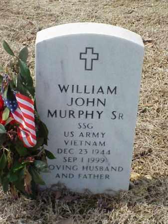 MURPHY, SR (VETERAN VIET), WILLIAM JOHN - Pulaski County, Arkansas | WILLIAM JOHN MURPHY, SR (VETERAN VIET) - Arkansas Gravestone Photos