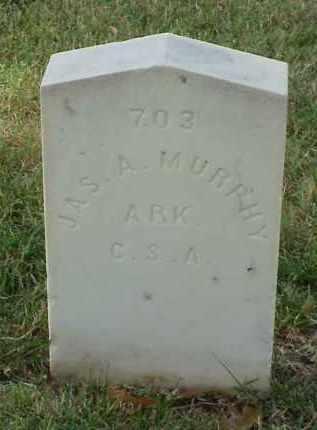 MURPHY (VETERAN CSA), JAMES A - Pulaski County, Arkansas | JAMES A MURPHY (VETERAN CSA) - Arkansas Gravestone Photos