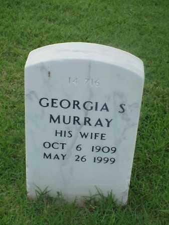 MURRAY, GEORGIA S - Pulaski County, Arkansas | GEORGIA S MURRAY - Arkansas Gravestone Photos