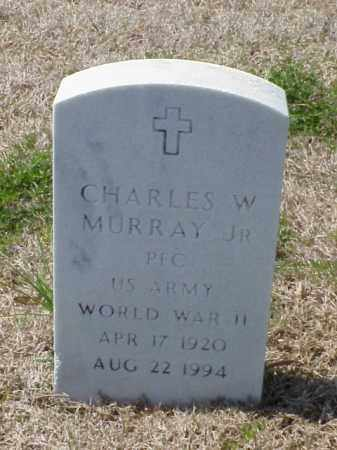 MURRAY, JR (VETERAN WWII), CHARLES W - Pulaski County, Arkansas | CHARLES W MURRAY, JR (VETERAN WWII) - Arkansas Gravestone Photos