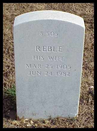 MURRAY, REBLE - Pulaski County, Arkansas | REBLE MURRAY - Arkansas Gravestone Photos