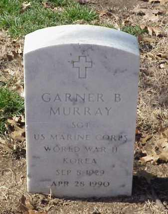 MURRAY (VETERAN 2 WARS), GARNER B - Pulaski County, Arkansas | GARNER B MURRAY (VETERAN 2 WARS) - Arkansas Gravestone Photos