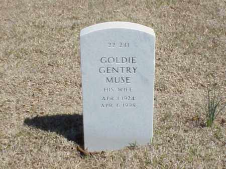 MUSE, GOLDIE GENTRY - Pulaski County, Arkansas | GOLDIE GENTRY MUSE - Arkansas Gravestone Photos