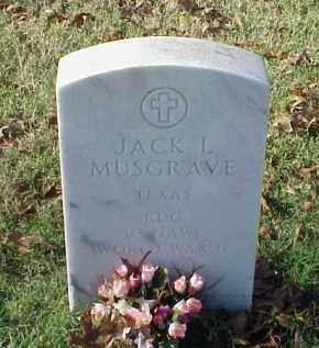 MUSGRAVE (VETERAN 3 WARS), JACK L - Pulaski County, Arkansas | JACK L MUSGRAVE (VETERAN 3 WARS) - Arkansas Gravestone Photos