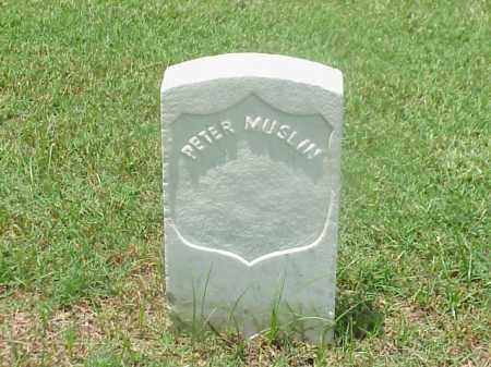 MUSLIN (VETERAN UNION), PETER - Pulaski County, Arkansas | PETER MUSLIN (VETERAN UNION) - Arkansas Gravestone Photos