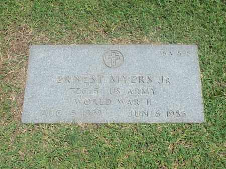 MYERS, JR (VETERAN WWII), ERNEST - Pulaski County, Arkansas | ERNEST MYERS, JR (VETERAN WWII) - Arkansas Gravestone Photos