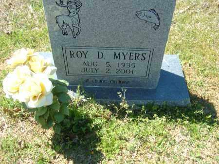 MYERS, ROY D. - Pulaski County, Arkansas | ROY D. MYERS - Arkansas Gravestone Photos