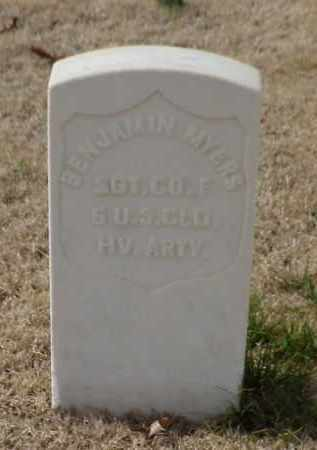 MYERS (VETERAN UNION), BENJAMIN - Pulaski County, Arkansas | BENJAMIN MYERS (VETERAN UNION) - Arkansas Gravestone Photos